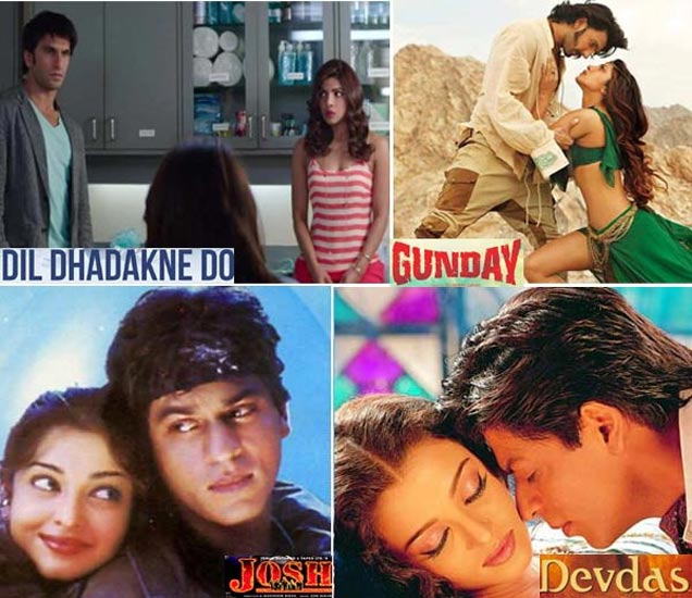 बॉलिवूड कपल्स: कधी सिनेमांमध्ये बनले बहीणभाऊ, तर कधी लव्हर्स बनून केला रोमान्स देश,National - Divya Marathi