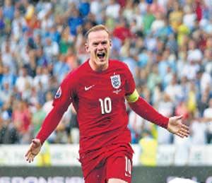 युरो २०१६ फुटबॉल स्पर्धा पात्रता फेरी: रुनीमुळे इंग्लंडला मिळाला विजय!|स्पोर्ट्स,Sports - Divya Marathi