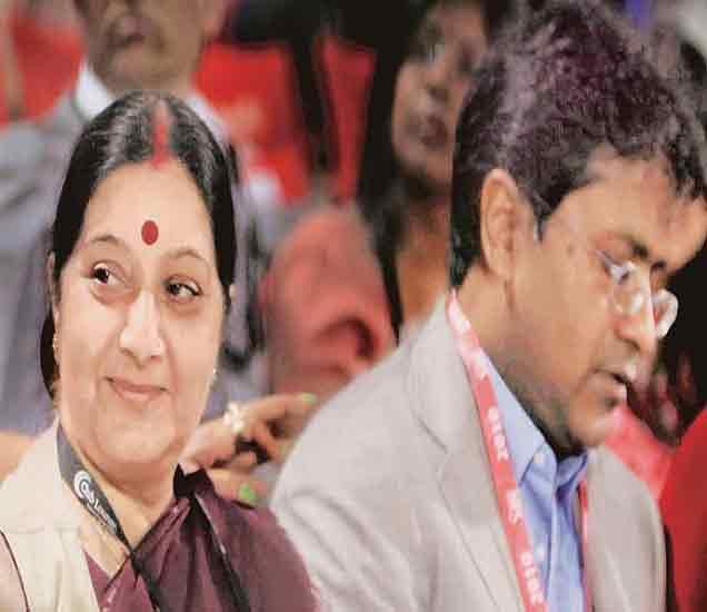 सुषमा यांच्या भेटीनंतर जेटली म्हणाले, \'परराष्ट्र मंत्र्यांनी काहीच चूक केले नाही\'|देश,National - Divya Marathi