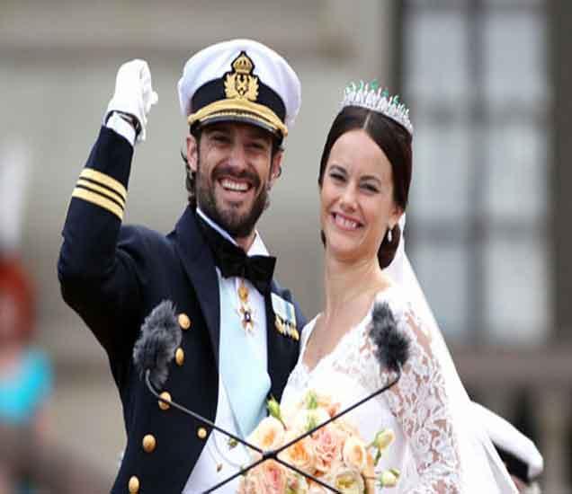 राजकुमार कार्ल फिलिप आणि पत्नी सोफिया हेल्कव्हिस्ट - Divya Marathi
