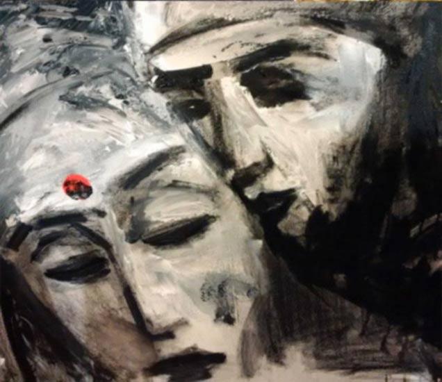 सलमानने काढले Painting, 'बजरंगी भाईजान'च्या कॅप्शनसह केले शेअर| - Divya Marathi