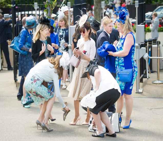 ब्रिटनच्या रॉयल एस्कॉट स्पर्धेतील लेडीज डे, पाहा छायाचित्रे|विदेश,International - Divya Marathi