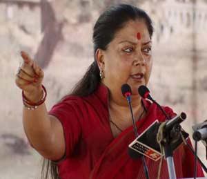 भाजपही पाठीशी: मुख्यमंत्री वसुंधरा राजे यांच्या पाठीशी आमदारांचे बळ|देश,National - Divya Marathi
