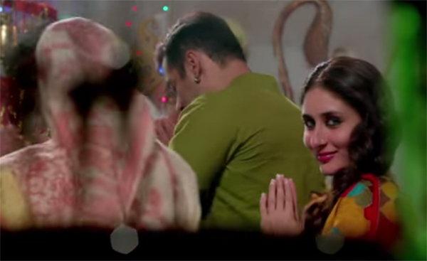 'बजरंगी भाईजान'च्या नवीन गाण्यात सलमान-करीनाची रोमँटिक केमिस्ट्री| - Divya Marathi