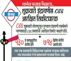मुंबई पाऊस : सोलापूरकडे येणारी रेल्वे वाहतूक विस्कळीत सोलापूर,Solapur - Divya Marathi
