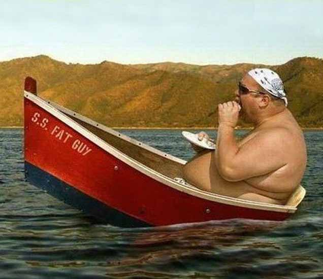 Funny Fatty: हे फोटो पाहून तुम्ही लोटपोट होऊन हसाल, मग करणार ना रोज व्यायाम| - Divya Marathi