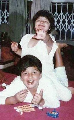 PHOTOS : ही आहे अर्जुन कपूरची बहीण अंशुला, भावासोबत असे घालवले बालपण| - Divya Marathi