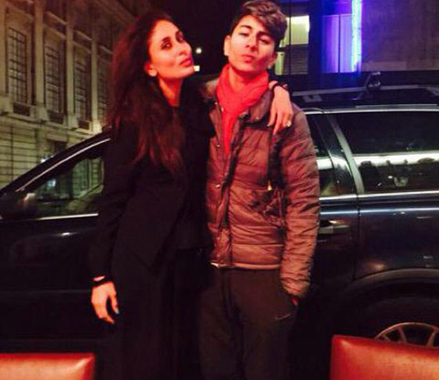 सावत्र मुलासोबत लंडनमध्ये सुटी एन्जॉय करतेय करीना, व्हायरल झाला PHOTO| - Divya Marathi