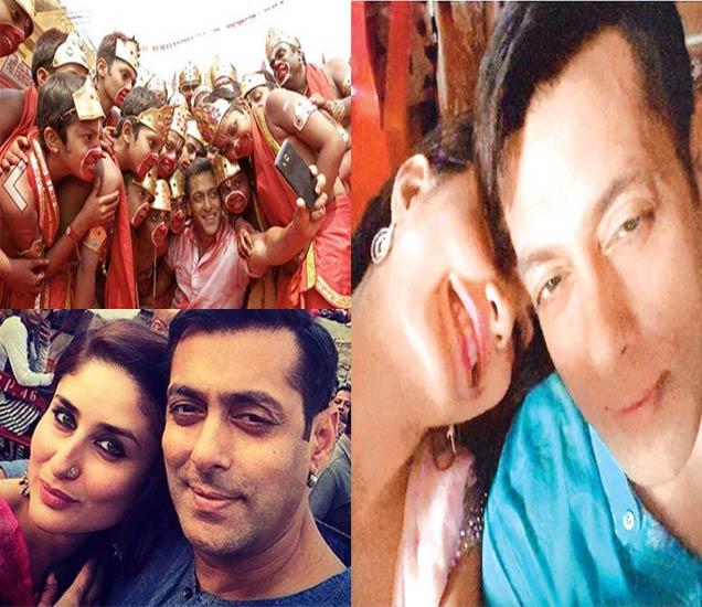 सेल्फी ले ले रे... पाहा Selfieसाठी किती क्रेझी आहे \'दबंग खान\'|देश,National - Divya Marathi