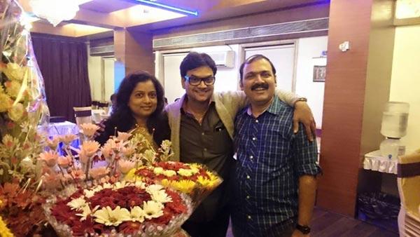 फिल्म इंडस्ट्रीतील मित्रांनी जल्लोषात साजरा केला अभिनेता मंगेश देसाईचा वाढदिवस, पाहा PIX|मराठी सिनेकट्टा,Marathi Cinema - Divya Marathi