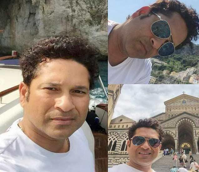 सचिन तेंडुलकरने शेअर केला कन्येसोबतचा सेल्फी, रोममध्ये एन्जॉय करतोय सुट्या| - Divya Marathi