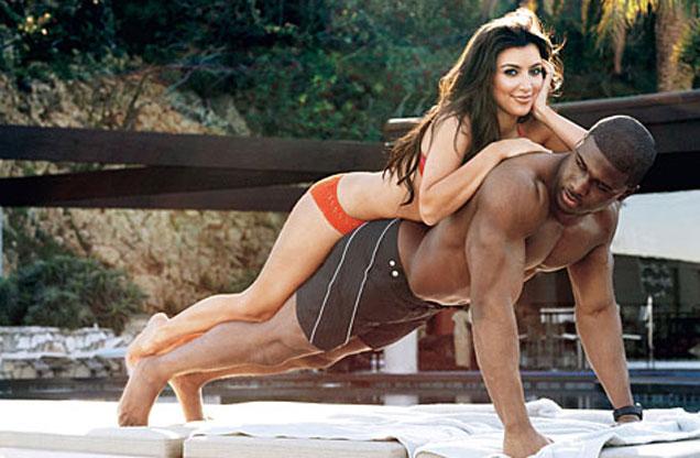 PHOTOS: हा आहे किमचा एक्स-बॉयफ्रेंड, पाहा दोघांची बोल्ड छायाचित्रे| - Divya Marathi