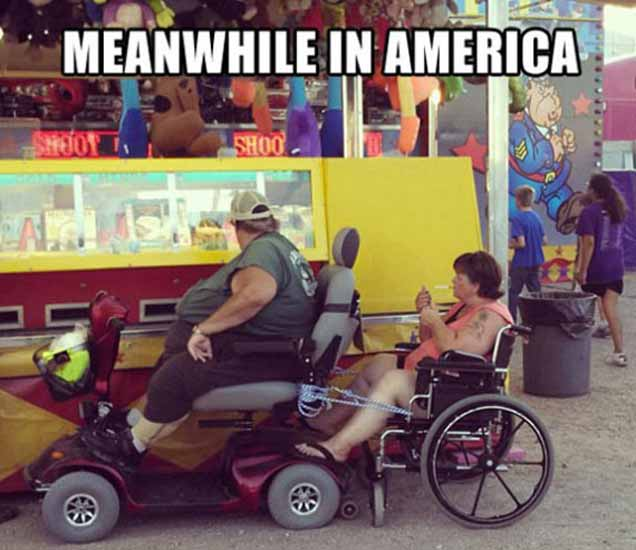 FUNNY: Its Happen Only in America, पाहा खळखळून हसवणारे PHOTOS| - Divya Marathi