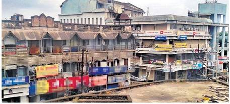 अमरावती शहरातील धोकादायक ठिकाण - Divya Marathi