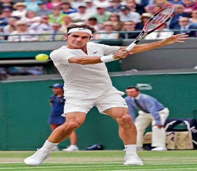 विम्बल्डन टेनिस: स्विस किंग उपांत्य फेरीत, फेडररचा फाॅर्म|स्पोर्ट्स,Sports - Divya Marathi