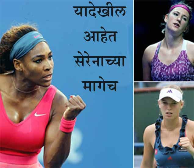सेरेना vs शारापोव्हा:  वर्षाचे 20 आठवडे सोबत असूनही अबोला,  काय आहे नेमके कारण? स्पोर्ट्स,Sports - Divya Marathi