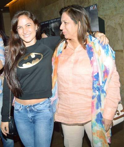 Ex-गर्लफ्रेंड संगीता बिजलानीसोबत सलमानने पोहोचला \'बाहुबली\'च्या स्क्रिनिंगला, पाहा PIX| - Divya Marathi