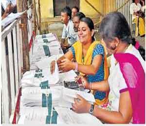 पहिल्या दिवशी उमेदवारांची धांदल, ग्रामपंचायत निवडणुक|अकोला,Akola - Divya Marathi