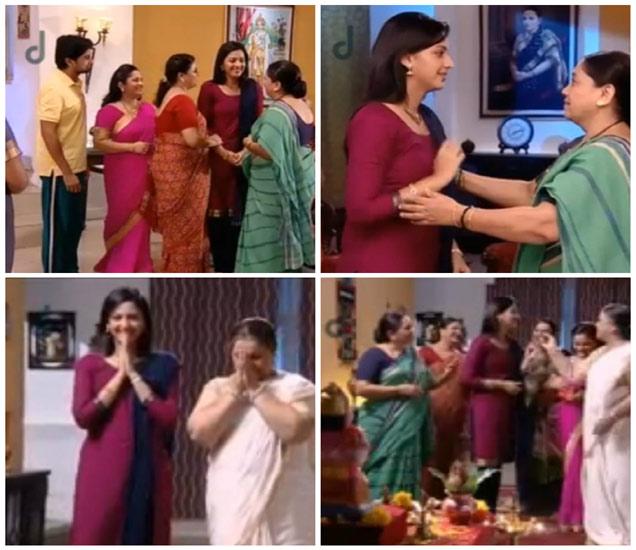 Telly World: अखेर तो क्षण आला... श्री-जान्हवीने आईंना दिली होणाऱ्या बाळाची गोड बातमी! मराठी सिनेकट्टा,Marathi Cinema - Divya Marathi