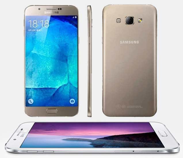 Samsung ने लॉन्च केला स्लिम बॉडी असलेला Galaxy A8, 16MP कॅमेरा|बिझनेस,Business - Divya Marathi