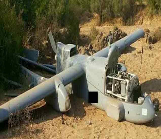 एअरफोर्सचे मानवरहित विमान कोसळले; मिसाईल हल्ला झाल्याची अफवा|देश,National - Divya Marathi