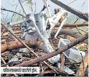 पाकने स्वत:चे ड्रोन पाडले, भारताचे भासवले, आगळीक केल्यास 'चोख' प्रत्युत्तर -भारत देश,National - Divya Marathi