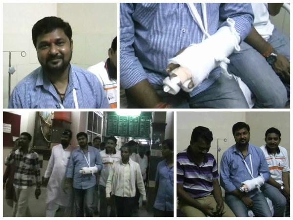 टोल कर्मचा-याला थप्पड लावल्याने आमदार राजेश काशिवार यांना मारहाण नागपूर,Nagpur - Divya Marathi