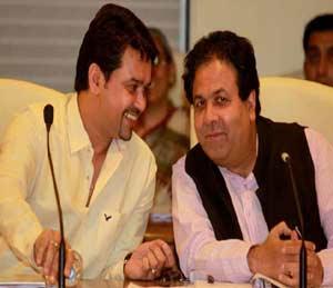 आयपीएल : चार सदस्यीय समिती गठित; शिर्के, शुक्ला, ठाकूर यांचा समावेश|क्रिकेट,Cricket - Divya Marathi