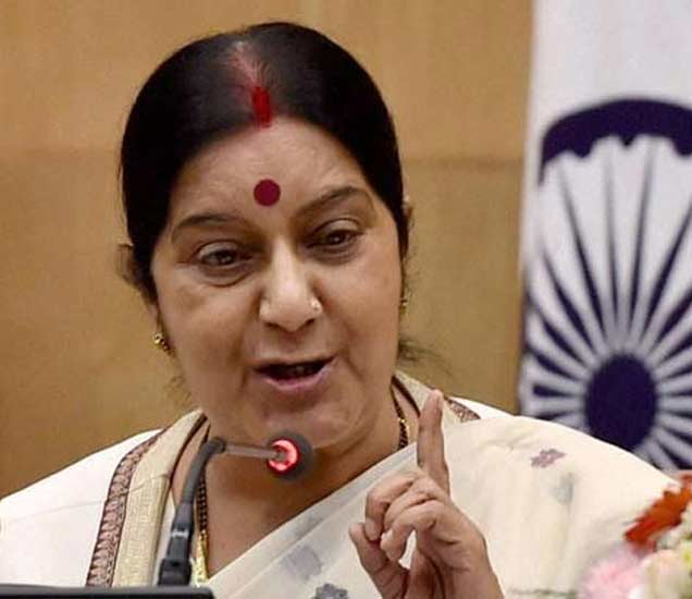 'कोल' गेटमधील आरोपीच्या पासपोर्टसाठी काँग्रेस नेत्याचा दबाव : सुषमा|देश,National - Divya Marathi