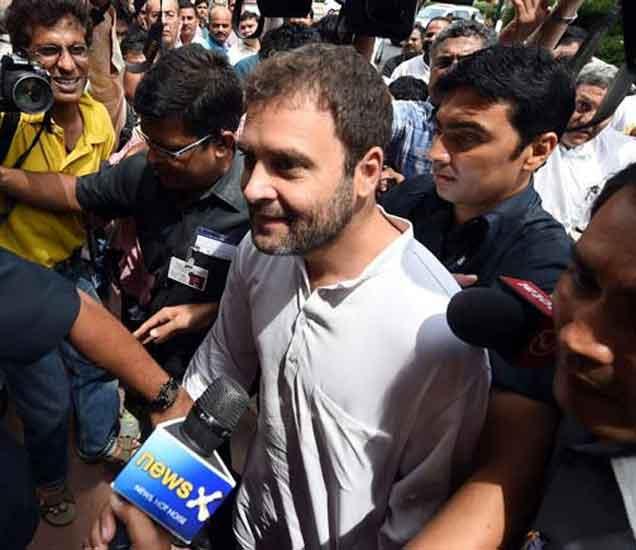 PMच्या हवेत गप्पा -राहुल, सोनिया - आमचा विरोध टीव्हीवर दाखवत नाही|देश,National - Divya Marathi