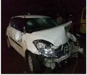 मद्यधुंद कारचालकाने ११ जणांना उडवले, तीन गंभीर अकोला,Akola - Divya Marathi