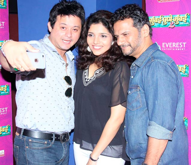 मुंबई-पूणे-मुंबई-२ चा फस्ट लूक लाँच, मुक्ता-स्वप्निल करतायत लग्नाचे आमंत्रण|मराठी सिनेकट्टा,Marathi Cinema - Divya Marathi