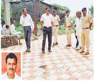 ग्रामपंचायत सदस्याची हत्या|अकोला,Akola - Divya Marathi