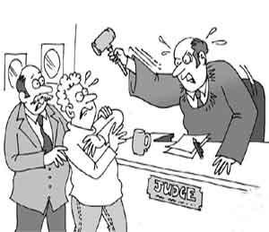 Funny: ... आणि वैतागून जजने वकिलांनाच दिली फाशीची धमकी, वाचा भन्नाट जोक|देश,National - Divya Marathi