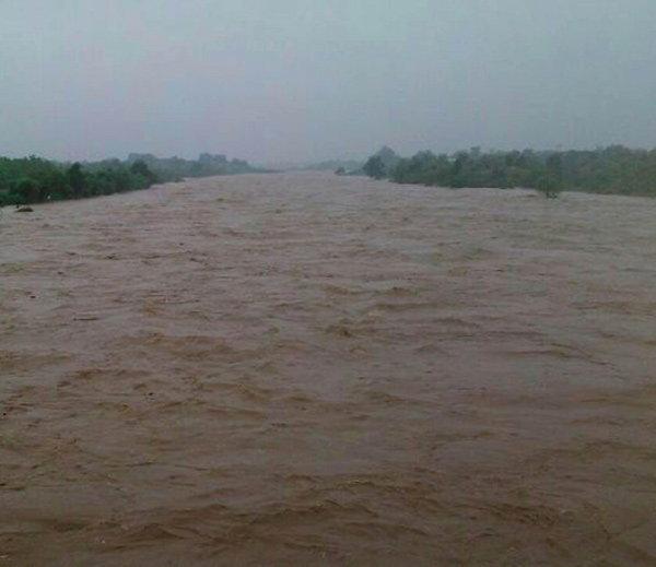 अहमदाबादमध्ये मुसळधार, सुरतची नदी धोक्याच्या पातळीवर, बघा गुजरातचे PHOTOS|देश,National - Divya Marathi