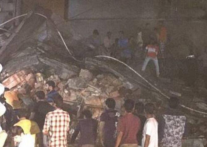 डोंबवलीत इमारत कोसळली; नऊ ठार तर अजूनही  20 जण ढिगा-या खाली|मुंबई,Mumbai - Divya Marathi