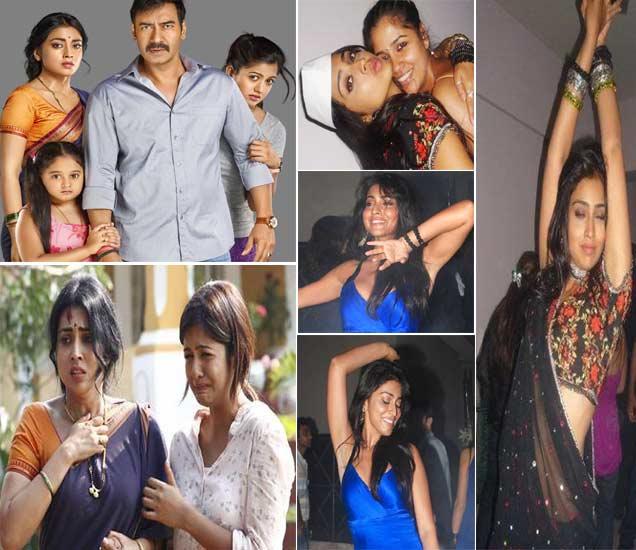 32 वर्षीय श्रिया \'दृश्यम\'मध्ये साकारतेय 24 वर्षीय मुलीच्या आईची भूमिका, पार्टीत करते अशी धमाल  - Divya Marathi