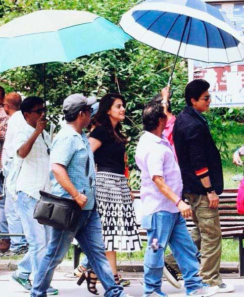 'दिलवाले'मध्ये असा असेल शाहरुख-काजोलचा रोमान्स, समोर आला PHOTO| - Divya Marathi