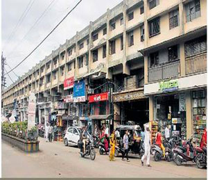 गाळे करार वादात रुतली स्मार्ट सिटी जळगाव,Jalgaon - Divya Marathi