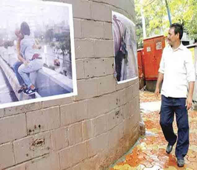 PHOTOS: मुंबईत किसिंग पोस्टरचा पूर, कुणी लावले कुणालाच माहिती नाही|मुंबई,Mumbai - Divya Marathi