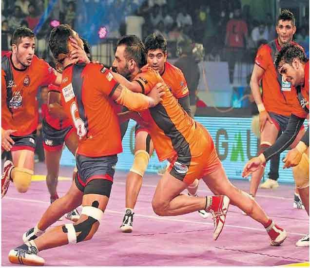 प्राे कबड्डी लीग :मुंबाची विजयसप्तमी|स्पोर्ट्स,Sports - Divya Marathi
