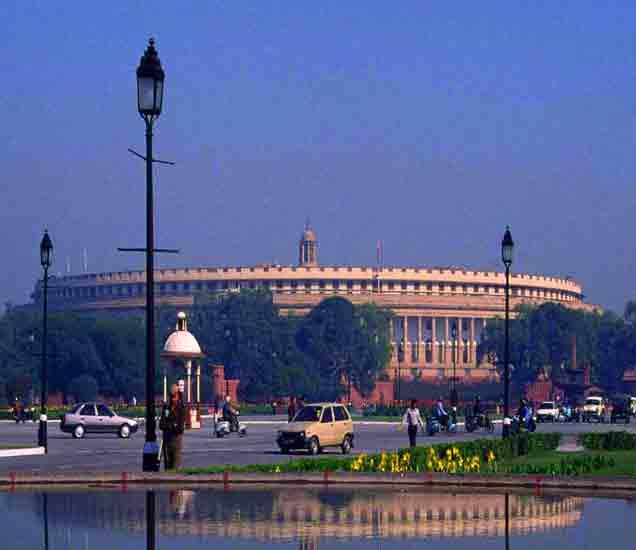 राष्ट्रपती भवन आणि संसद आपल्या जाग्ाेवरून हटणार ? जमिनीवर शेतकऱ्याचा दावा|देश,National - Divya Marathi