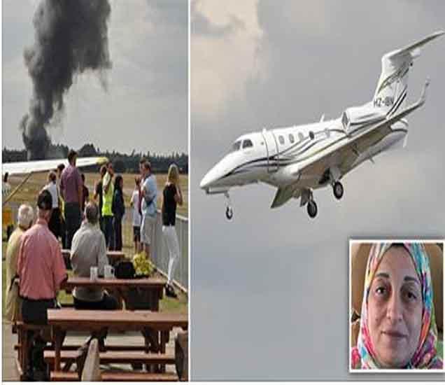 विमान दुर्घटनेत लादेनची बहीण, सावत्र आईचा मृत्यू|विदेश,International - Divya Marathi