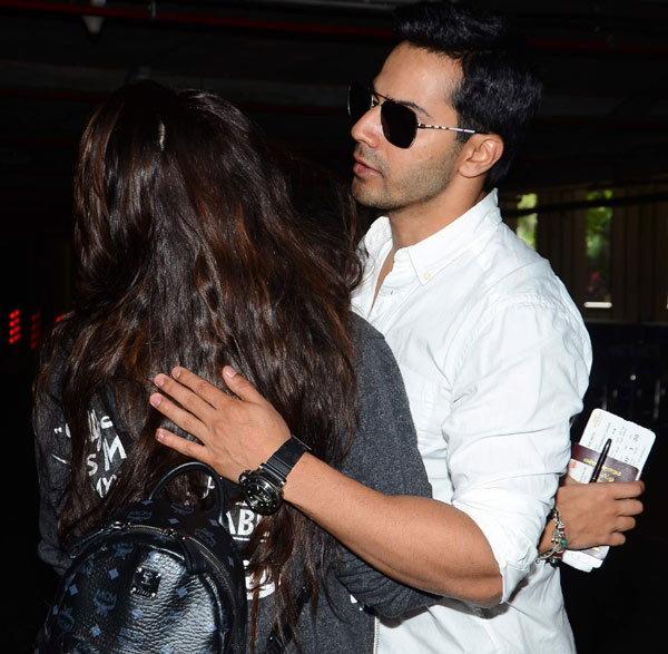 PHOTOS : एअरपोर्टवर स्पॉट झाली ऐश्वर्या, वरुण आणि जॅकलीनसुध्दा दिसले| - Divya Marathi