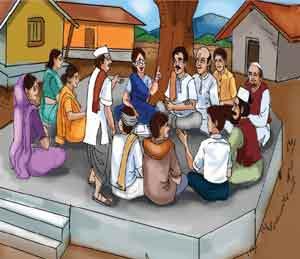 ५६ वर्षांपासून पोलिस  ठाऊक नसलेले गाव; चर्चेतून सोडवतात गावातील वाद|देश,National - Divya Marathi