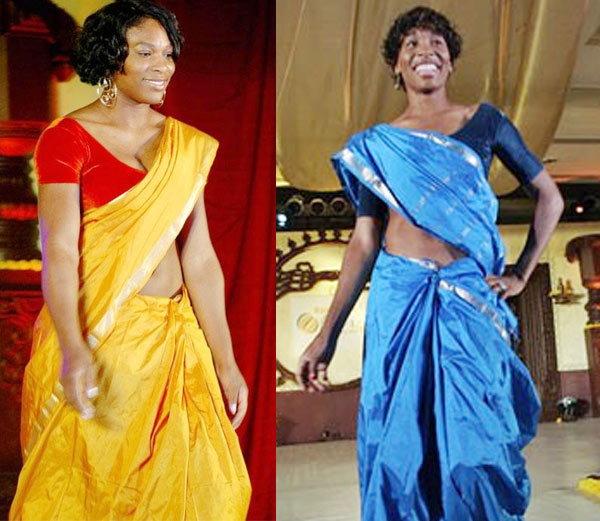 सेरेना आणि डावीकडून वीनस विल्यम्स. - Divya Marathi