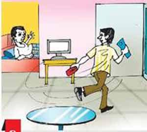 फ्लॅटमध्ये हातसफाई करणाऱ्या चोरास पाठलाग करून पकडले|जळगाव,Jalgaon - Divya Marathi
