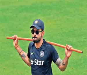 श्रीलंका दौराः कोहली ब्रिगेडची कसोटी, आजपासून टीम इंडियाचा अध्यक्षीय संघासोबत सराव सामना|स्पोर्ट्स,Sports - Divya Marathi