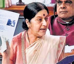 ललित गेटप्रकरणी निवेदन; मदत करणे गुन्हा असेल तर तो मी केला : सुषमा|देश,National - Divya Marathi