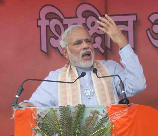 विचार व्यक्त करताना पंतप्रधान नरेंद्र मोदी. - Divya Marathi